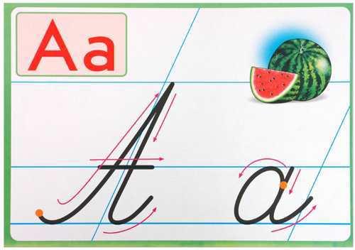 Образцы каллиграфического написания букв и цифр купить