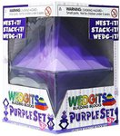 Purple Set. Конструктор Wedgits. 15 элементов