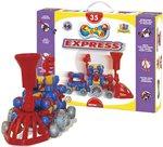 ZOOB Jr. Express. Конструктор для создания трехмерных фигур. 35 элементов