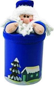 Дед мороз из ткани