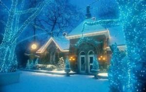 Сказочный новогодний домик