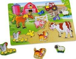 Картинка ферма без животных для детей