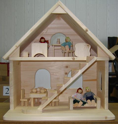 Дом игрушечный своими руками