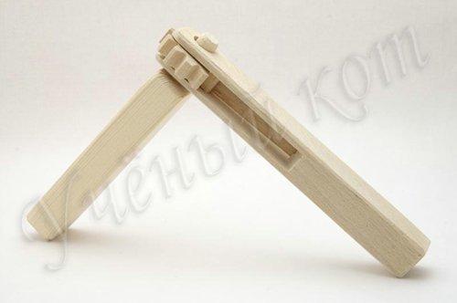 Трещетка деревянная круговая Биланик. Игрушки для детей от 2 до 10 лет - купить в интернет-магазине