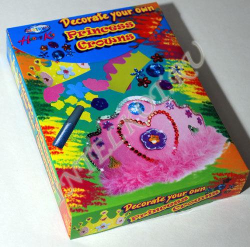 Набор для создания и декорирования детской короны.  Производитель: Centrum (Германия).  Творчество для девочки от 5...