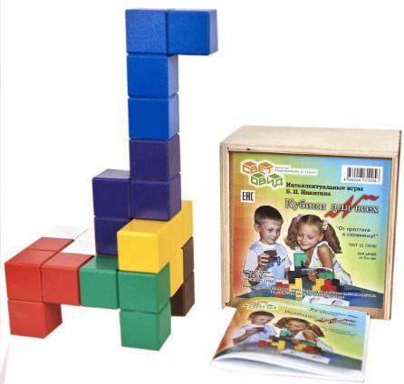Кубики для всех. Игра Никитина