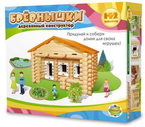 Деревянный конструктор (142