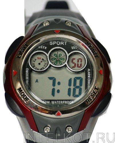 Купить электронные наручные часы водонепроницаемые