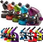 Школьные и детские микроскопы Levenhuk Rainbow и LabZZ