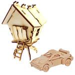 Деревянные модели для сборки*