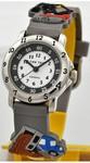 Кварцевые детские наручные часы для мальчика.  Дорожные работы