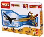 Конструктор Engino. 10 моделей: космический спутник, гидроплан, яхта, космический шатл, корабль, самолет и др.