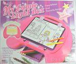 Волшебный планшет для рисования с подсветкой. Игрушка для девочек от 5 лет