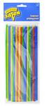 Набор разноцветных трубочек для коктейлей