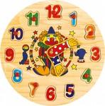 Деревянные часы с вкладышами