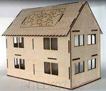 """Сборная модель """"Двухэтажный дом"""""""