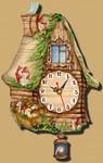 Настенные часы с маятником
