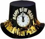 """Карнавальная шляпа """"Новогодние часы"""""""
