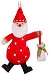 Санта-Клаус. Елочная игрушка из фетра