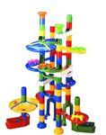 """Конструктор-лабиринт с шариками """"Slide Maker"""" от компании Marbutopia. 80 деталей"""