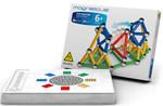 Магнитный конструктор Magneticus 157 элементов (96 магнитных палочек и 61 стальной шарик)