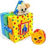 """Мягкая развивающая игрушка для малышей """"Кошки-мышки"""""""
