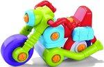 Мотоцикл. Конструктор для детей от 3 лет с набором инструментов