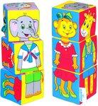 """Мягкие кубики """"Собираем по одежке"""". Развивающая игрушка для малышей"""