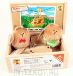 """Конструктор из дерева с подвижными деталями """"Канатная дорога"""". Авторская игрушка для детей от 4 лет"""