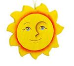 """Подвесная игрушка из дерева """"Солнце"""""""