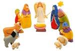 Рождество с пастухами. Набор деревянных фигурок. Ручная работа