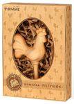 Шумелка Петушок. Деревянная погремушка для самых маленьких