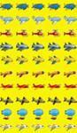 Самолетики. Набор наклеек для поощрения и оформления. 50 шт