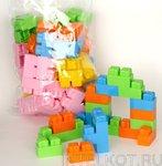 Пластмассовый конструктор Малютка (80 элементов)
