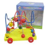 Серпантин-каталка. Развивающая игрушка для малышей