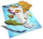 Южная Америка. Карта-пазл для детей
