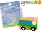 Городской автобус. Деревянная игрушка для мальчиков