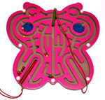 """Магнитный лабиринт """"Бабочка"""". Развивающая игра для детей"""