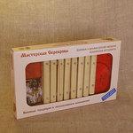 Диатонический 8 пластинный ксилофон. Мастерская Сереброва. Книжечка с нотами и диск в комплекте