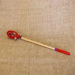 Длинная ложка с бубенцами. Русский народный музыкальный инструмент