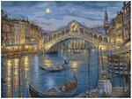 """Картина по номерам """"Венецианская ночь"""". Живопись на холсте. Творческий набор для детей и взрослых"""
