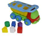 Машинка-сортер. Развивающая игрушка для малышей