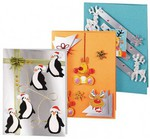 Веселые пингвины. Набор для скрапбукинга