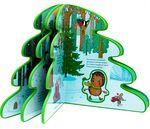 Новогодняя елка. Книжка-вырубка с фигурками-игрушками