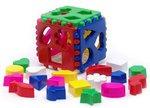 Логический куб. Развивающий сортер для малышей