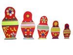Матрешки. Развивающая игра на ковролине для детей