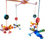 Бабочки. Деревянный мобиль для малышей