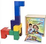 Кубики для всех. Игра Никитина (коробка - фанера)