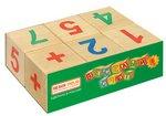 Веселый счет. Набор обучающих кубиков. 6 штук