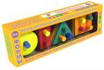 Формы и цвета. Логический набор-сортер для малышей. 4 формы, 4 цвета